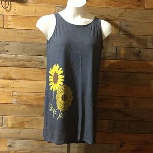 Sunflower tank dress - NEW